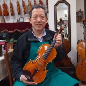 イタリア・クレモナのバイオリン