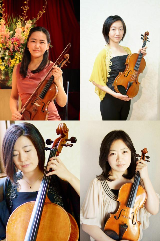 バイオリン・ビオラ・チェロの先生
