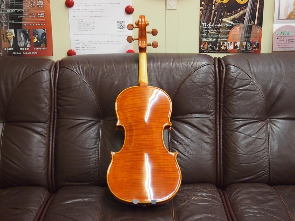 Francesco Bissolotti(フランチェスコ・ビソロッティ)のバイオリン-2