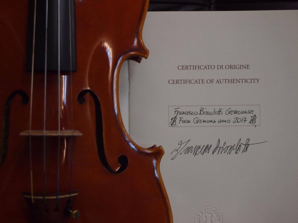 Francesco Bissolotti(フランチェスコ・ビソロッティ)のバイオリン-3