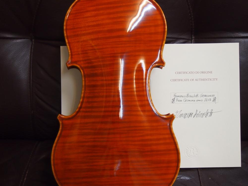 Francesco Bissolotti(フランチェスコ・ビソロッティ)のバイオリン-4
